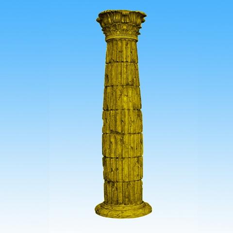 罗马柱腰线