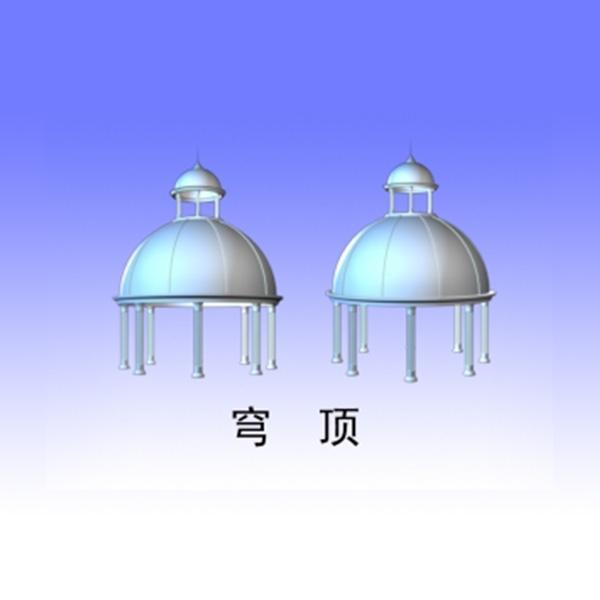 信丰GRC穹顶制作