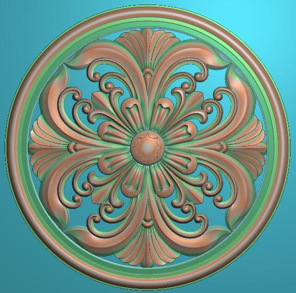 EPS圆形浮雕