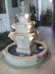 别墅浮雕水泥花