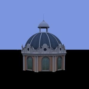 GRC/EPS欧式穹顶